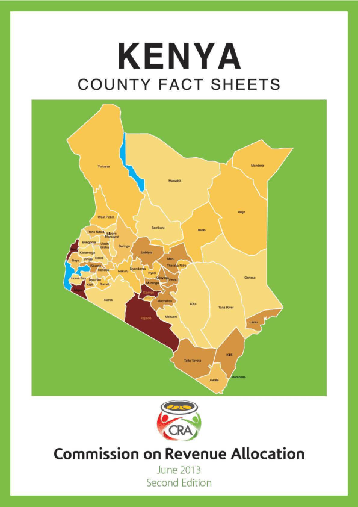 Kenya: Country Fact Sheets