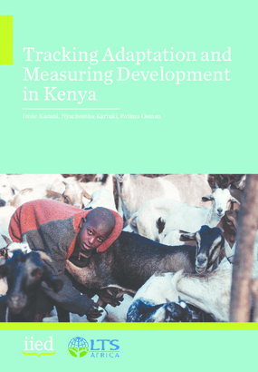 Tracking Adaptation and Measuring Development in Kenya
