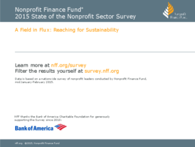 2015 State of the Nonprofit Sector Survey Summary
