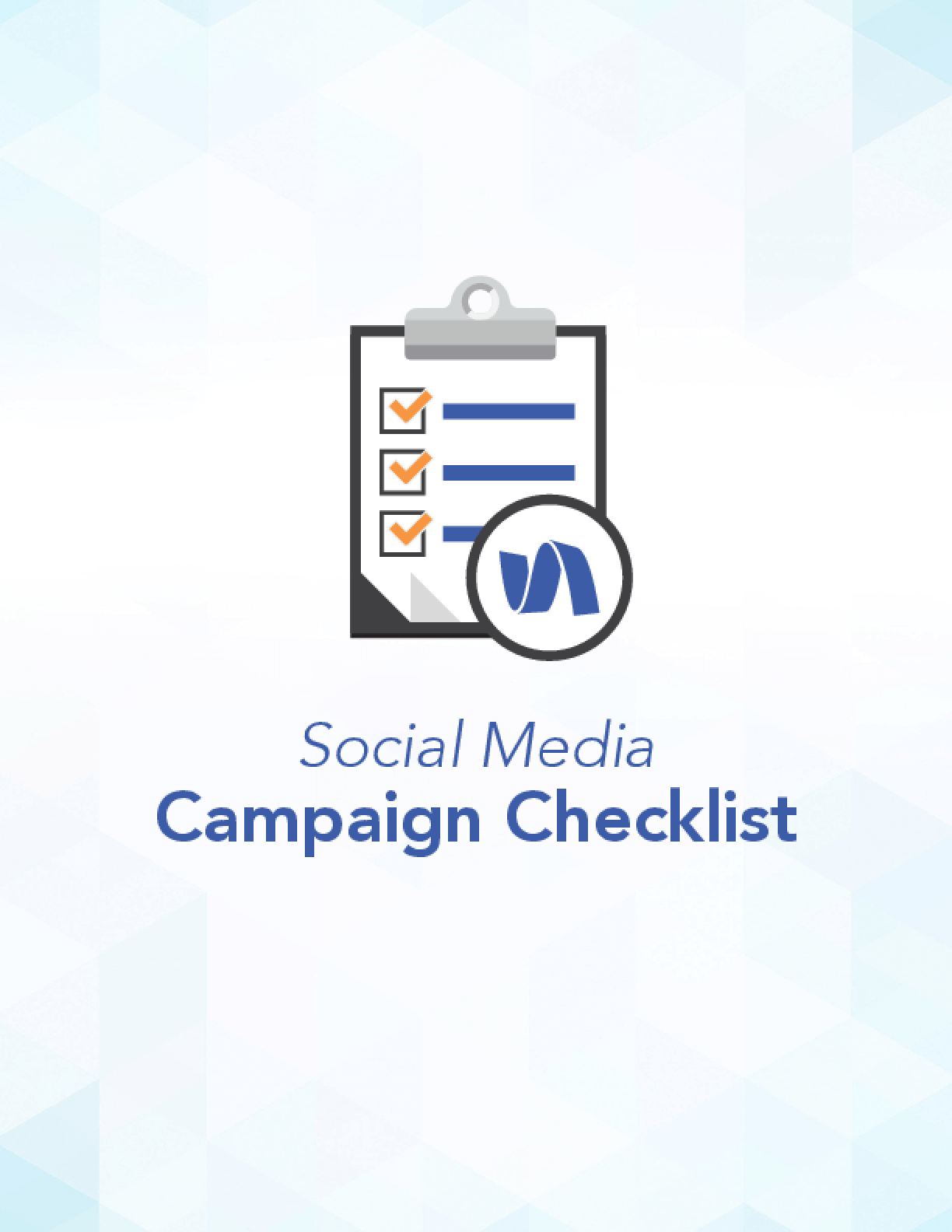 Social Media Campaign Checklist