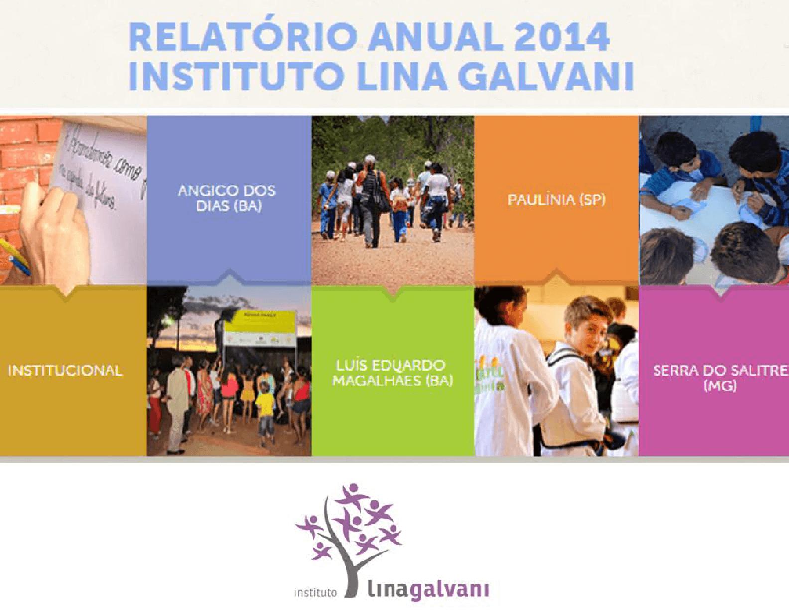 Relatório Anual 2014 - Instituto Lina Galvani