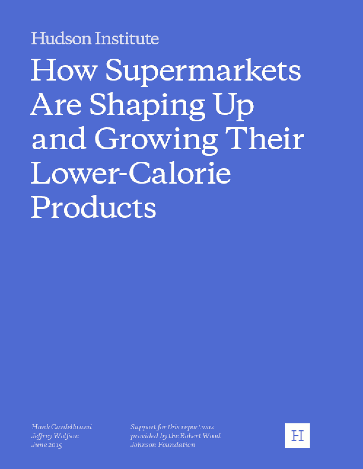 How Supermarkets Are Shaping Up and Growing Their Lower-Calorie Products