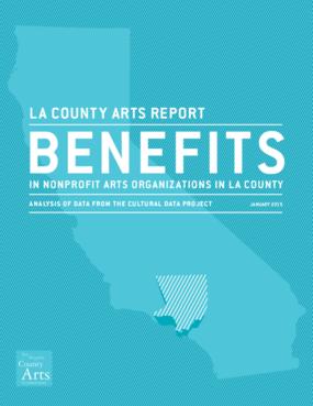 Benefits in Arts Nonprofit Organizations in LA County