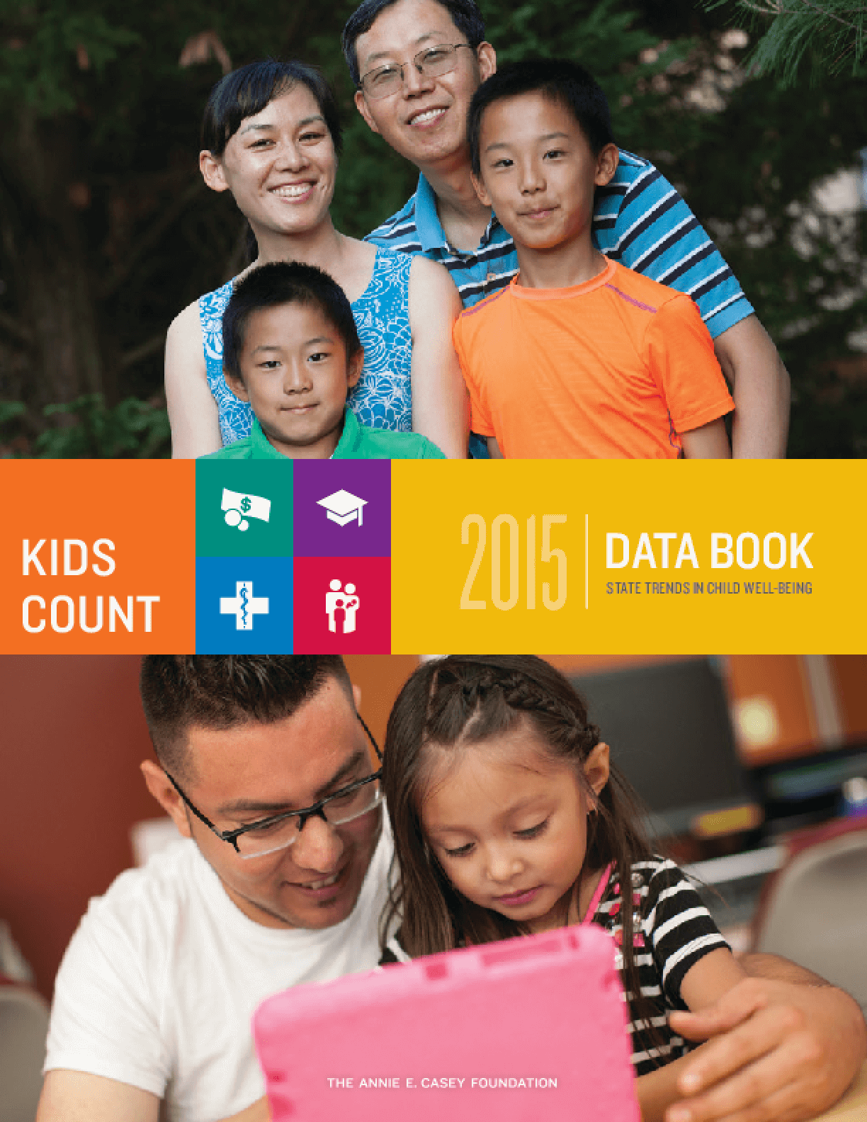 2015 Kids Count Data Book: State Trends In Child Well-Being