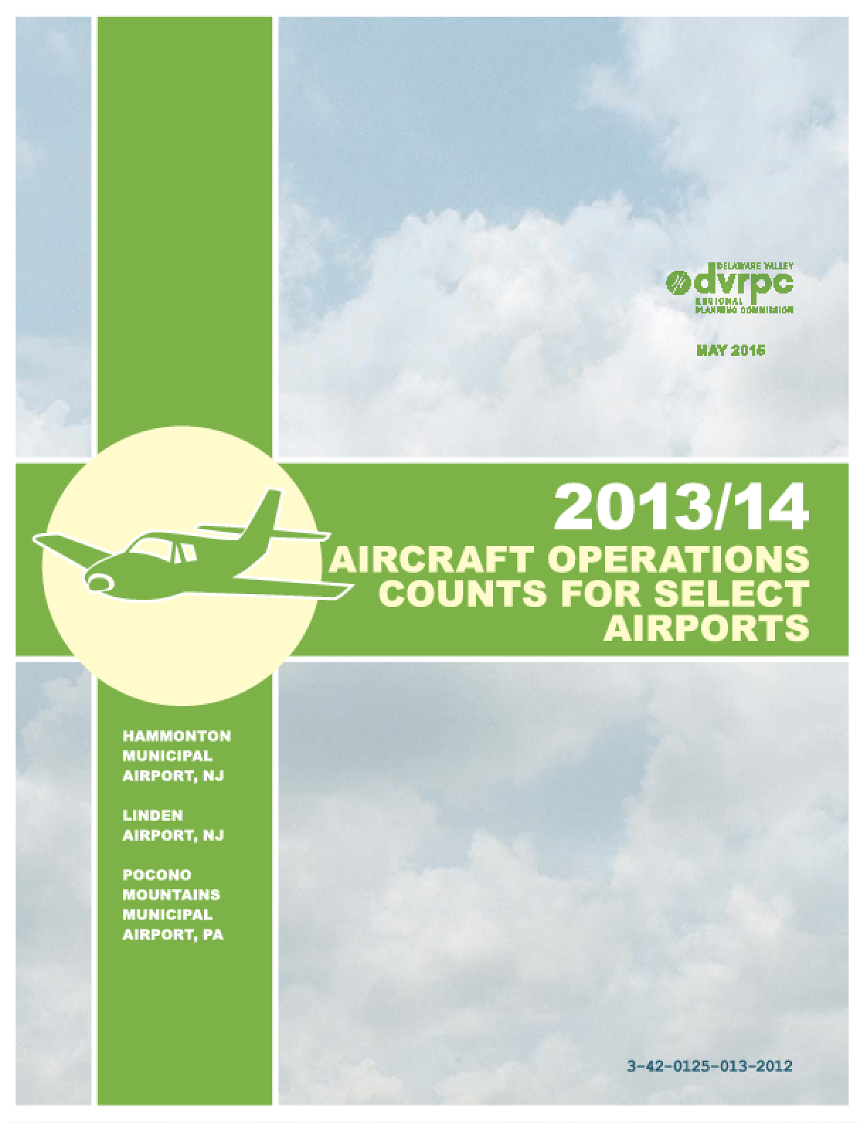 2013/14 Aircraft Operations Counts for Select Airports