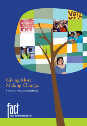 Giving More. Making Change.: A Journey in Progressive Grant Making