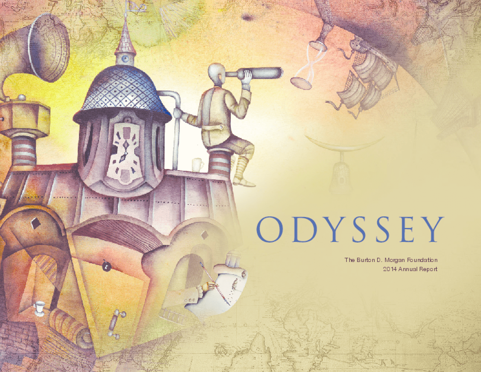 Odyssey: The Burton D. Morgan Foundation 2014 Annual Report