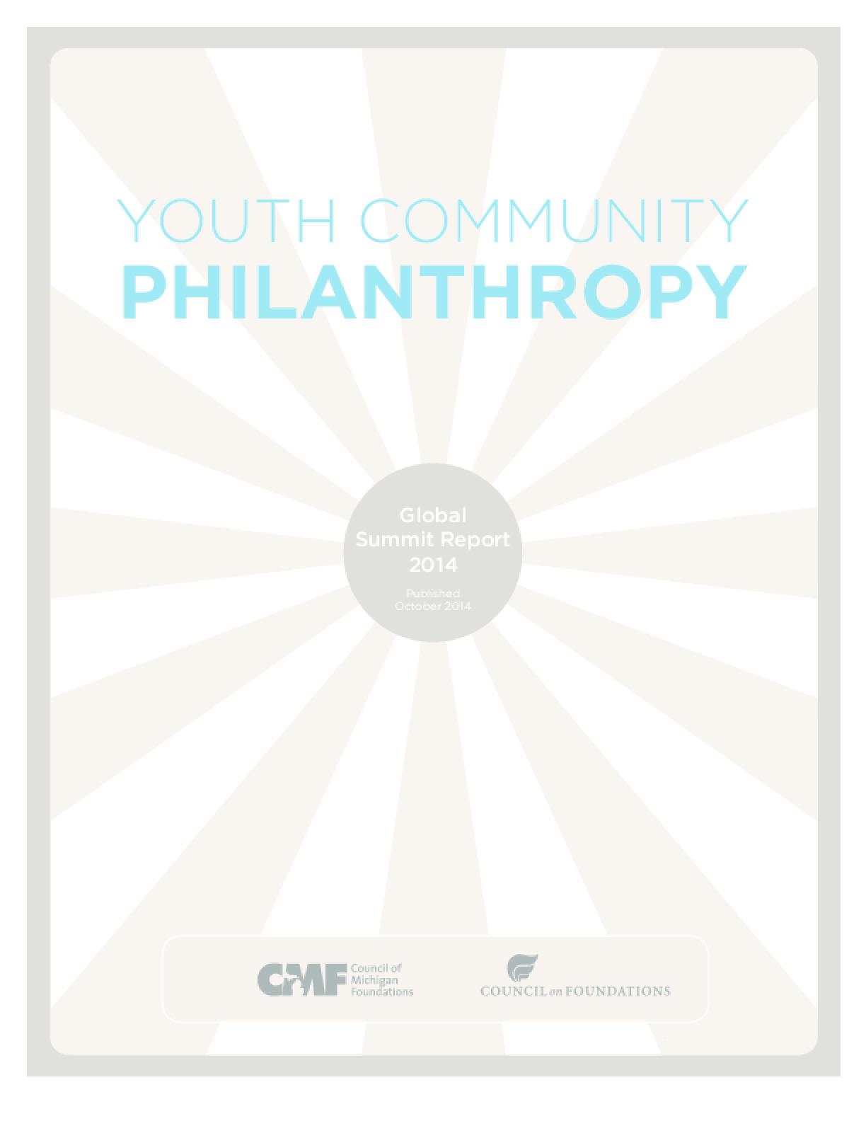 Youth Community Philanthropy