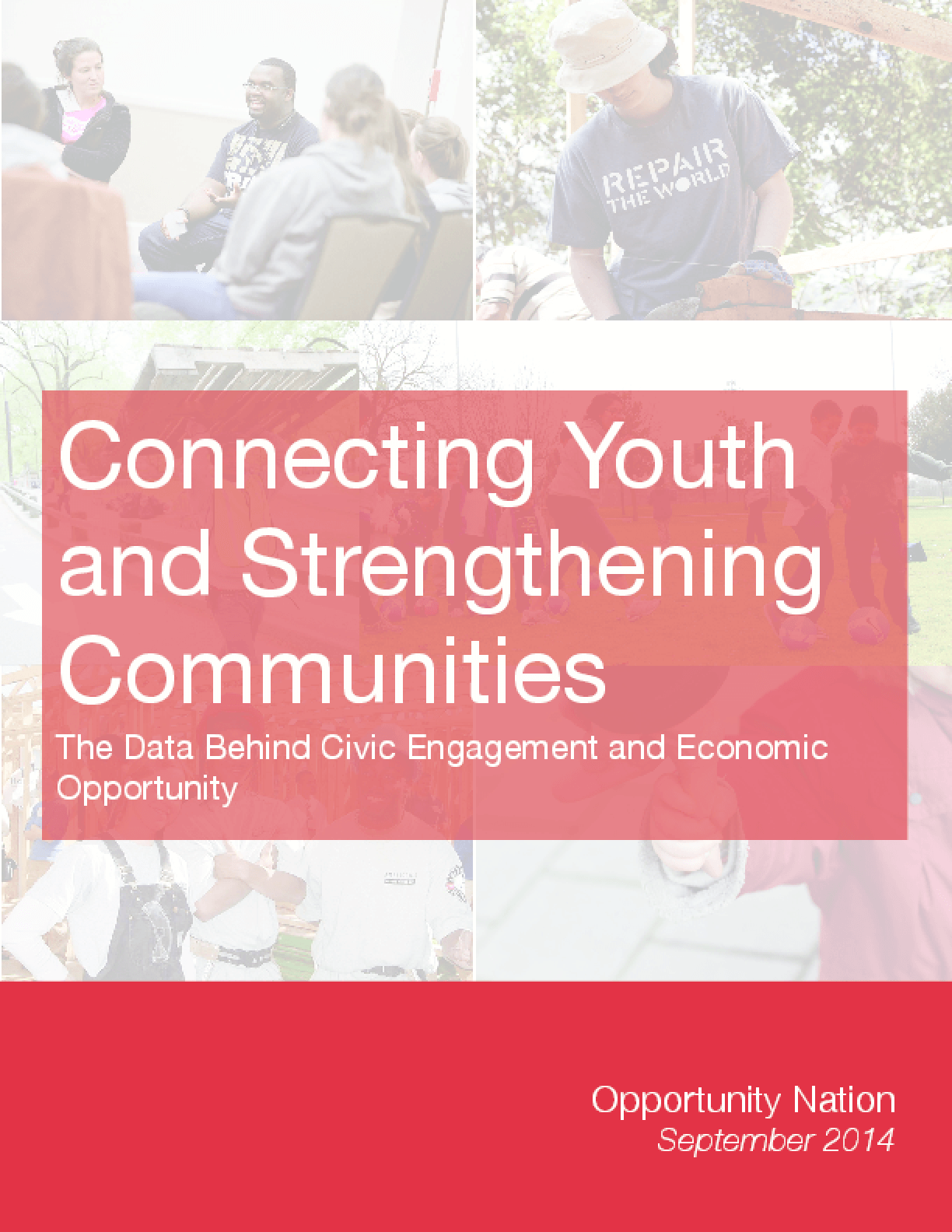 Connecting Youth and Strengthening Communities: The Data Behind Civic Engagement and Economic Opportunity