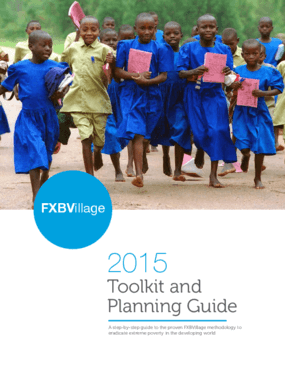 FXBVillage 2015 Toolkit and Planning Guide