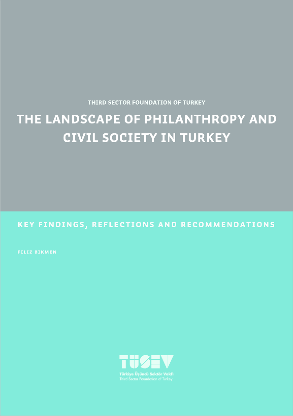The Landscape of Philanthropy and Civil Society In Turkey