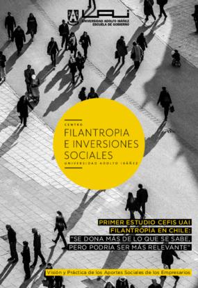 PRIMER ESTUDIO CEFIS UAI FILANTROPÍA EN CHILE
