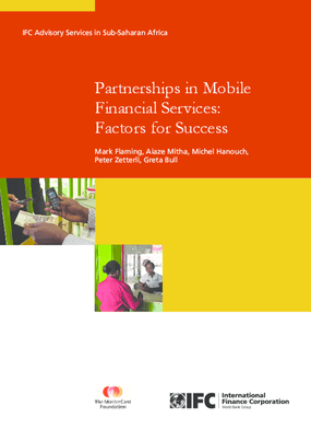 Partnerships in Mobile Financial Services: Factors for Success