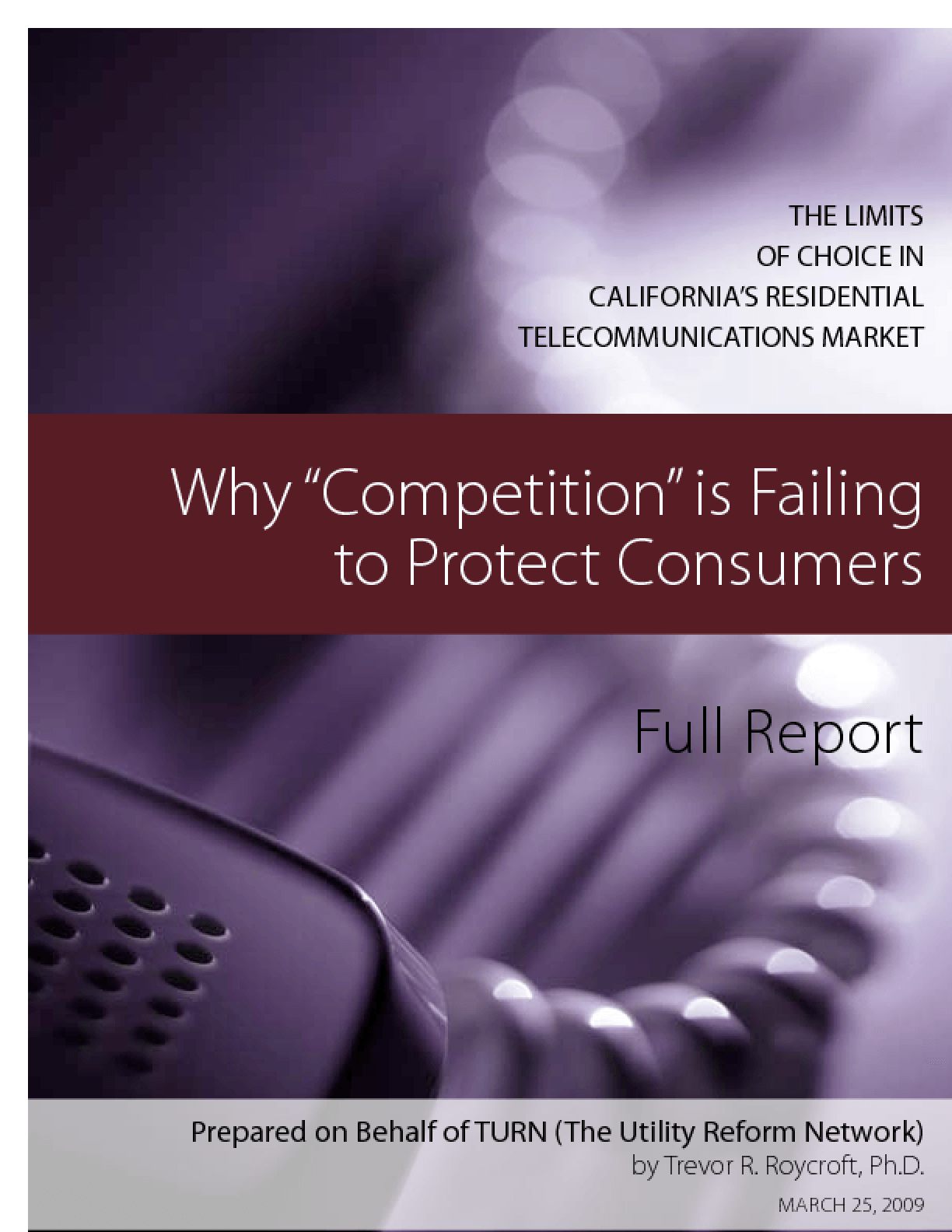 Why 'Competition' is Failing to Protect Consumers