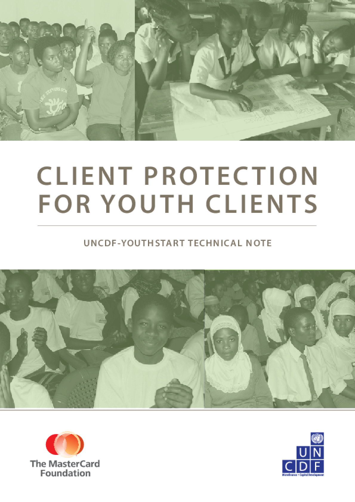 Client Protection for Youth Clients: UNCDF-YouthStart Technical Note