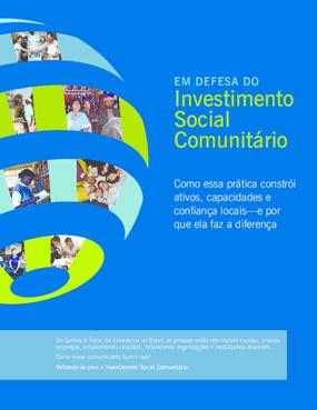 Em Defesa do Investimento Social Comunitário