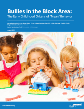 Bullies in the Block Area: The Early Childhood Origins of Mean Behavior
