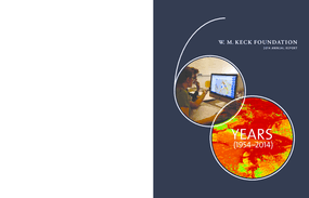 W.M. Keck Foundation: 2014 Annual Report