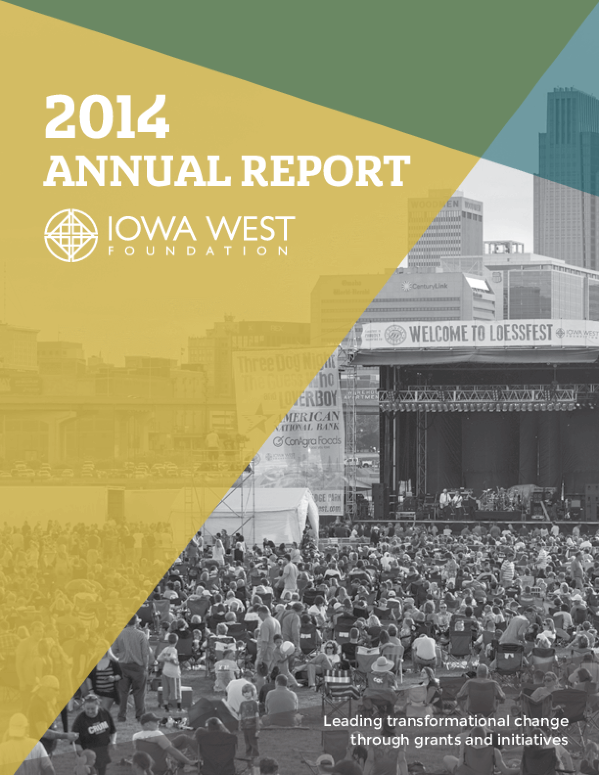 Iowa West Foundation: 2014 Annual Report