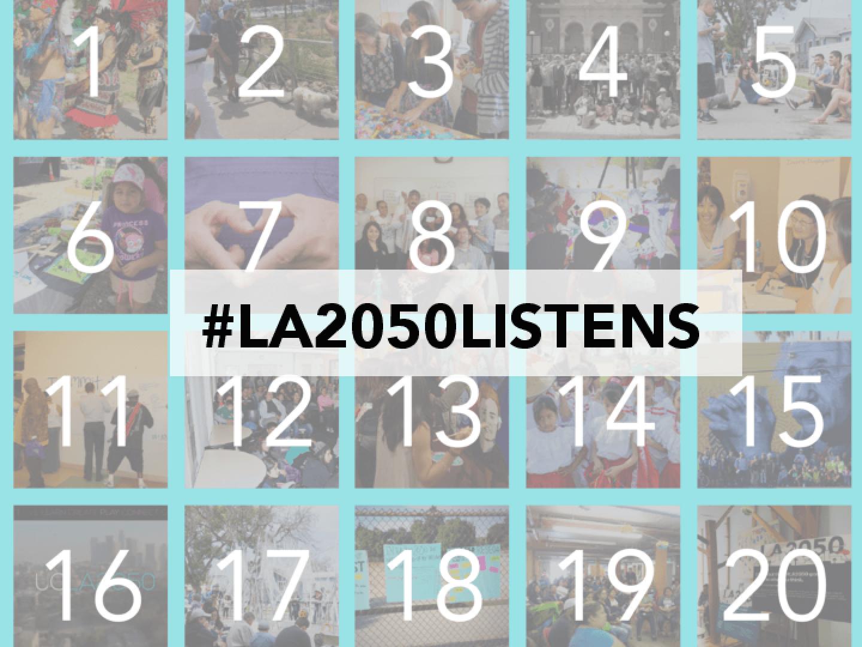#LA2050Listens