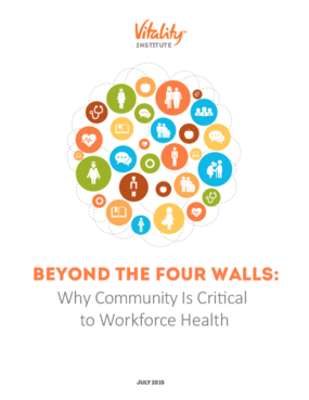Beyond The Four Walls: Why Community Is Critical to Workforce Health