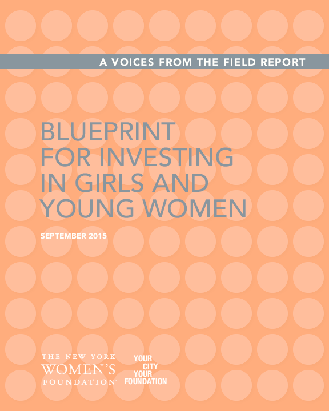 Blueprint for Investing in Girls and Young Women