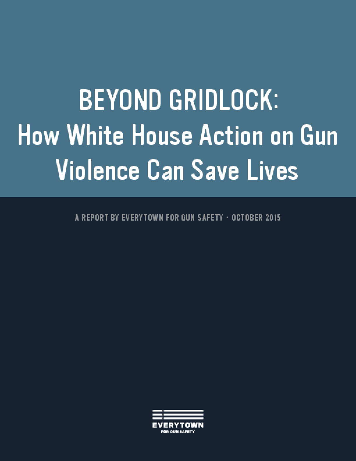 Beyond Gridlock: How White House Action on Gun Violence Can Save Lives
