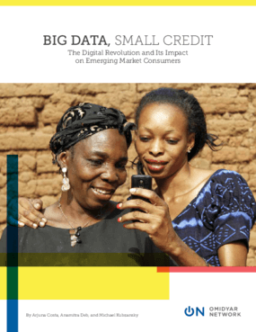 Big Data, Small Credit: The Digital Revolution and Its Impact on Emerging Market Consumers