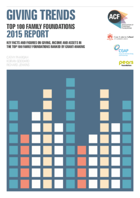 Family Foundations Giving Trends 2015 Report : Top 100 Family Foundations