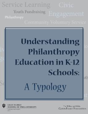 Understanding Philanthropy in K-12 Schools