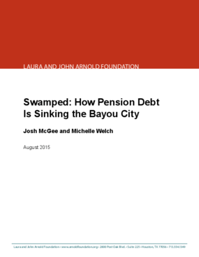 Swamped: How Pension Debt Is Sinking the Bayou City