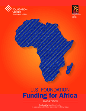 U.S. Foundation Funding for Africa: 2015 Edition