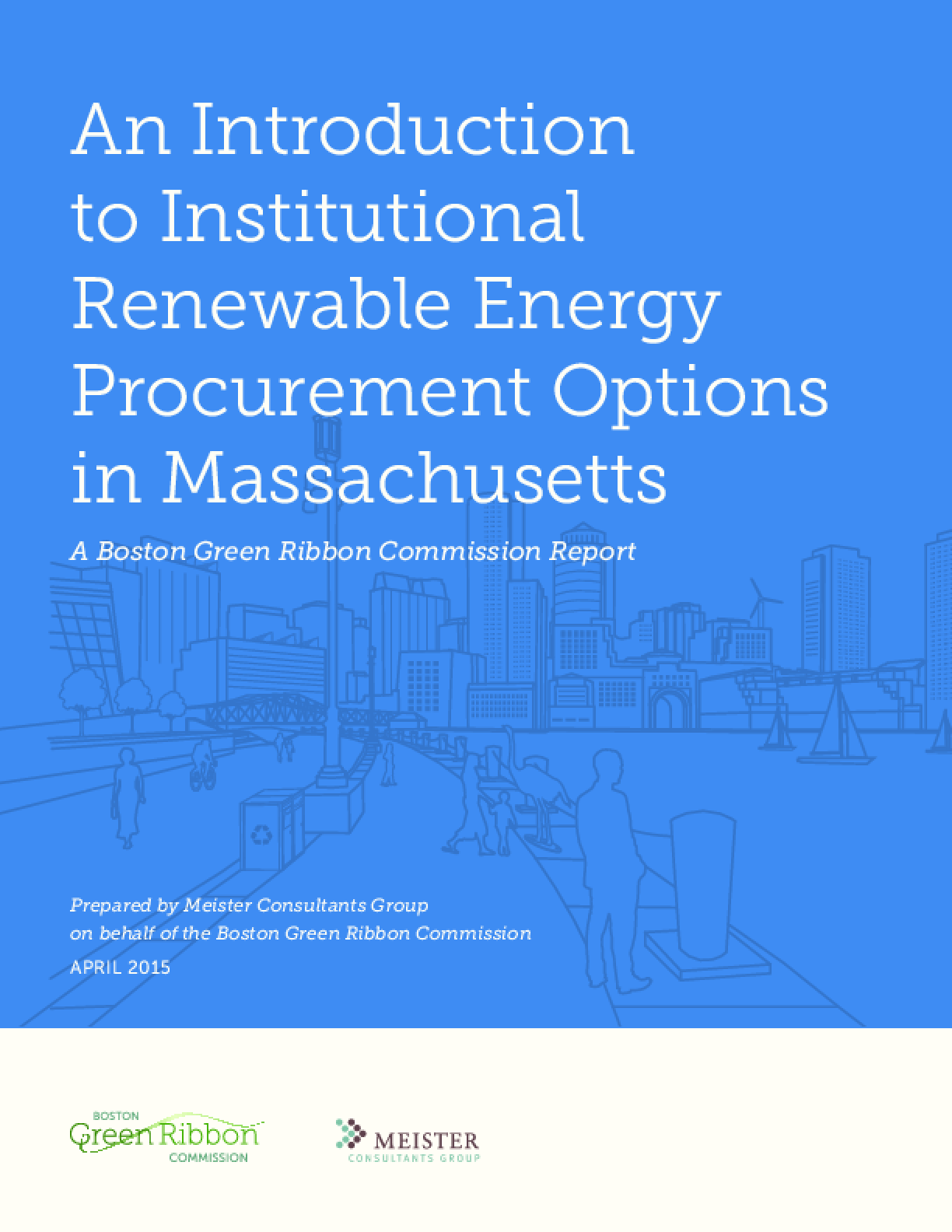 An Introduction to Institutional Renewable Energy Procurement Options in Massachusetts
