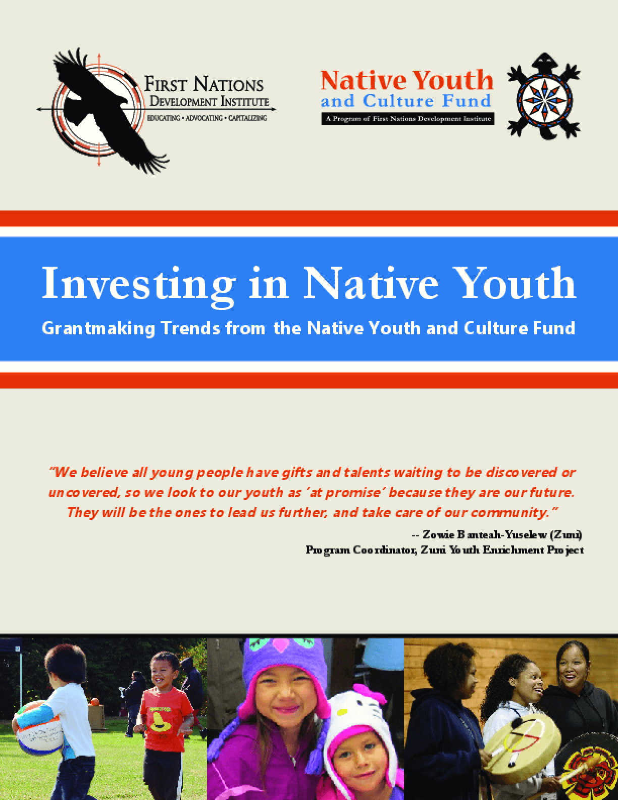 Investing in Native Youth: Grantmaking Trends from the Native Youth and Culture Fund