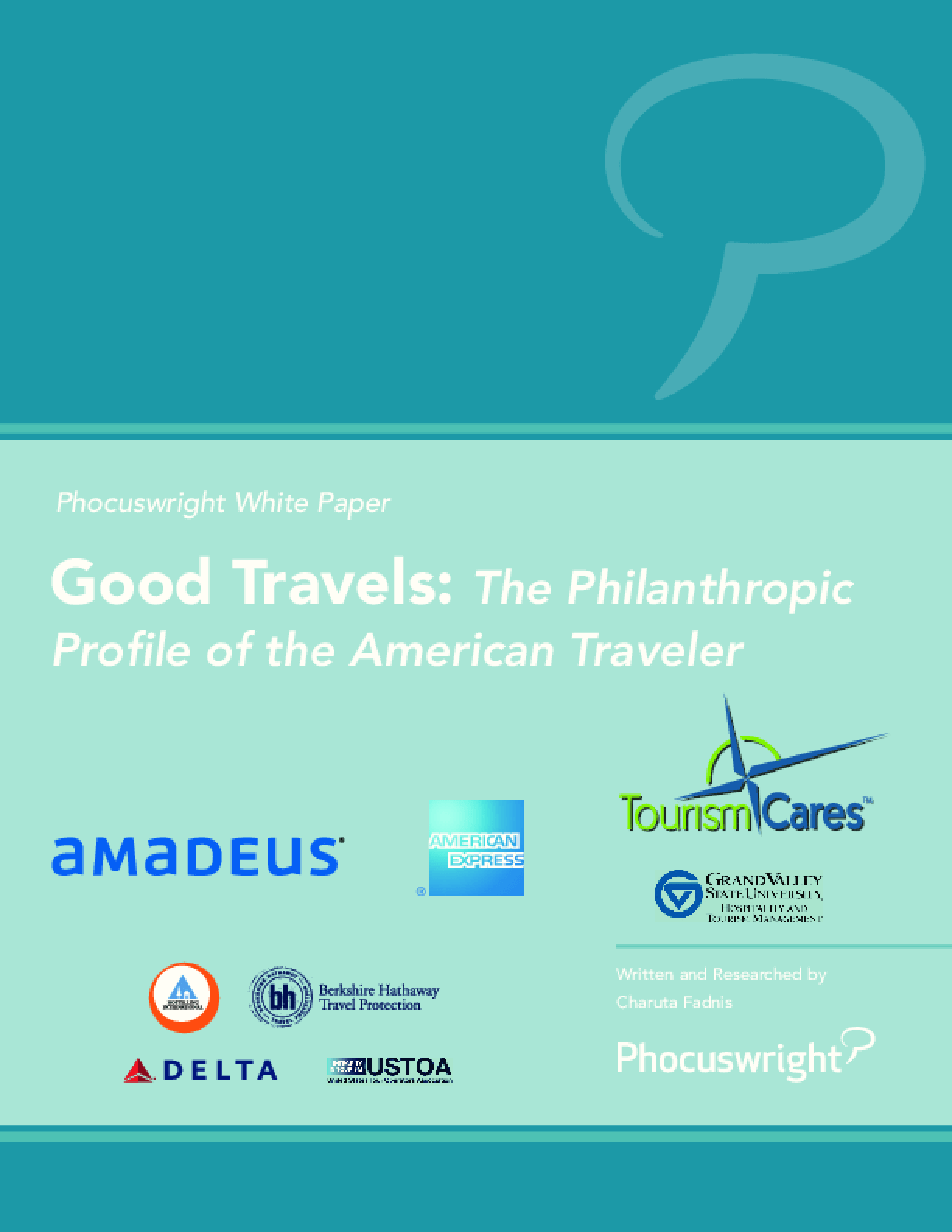 Good Travels: The Philanthropic Profile of the American Traveler