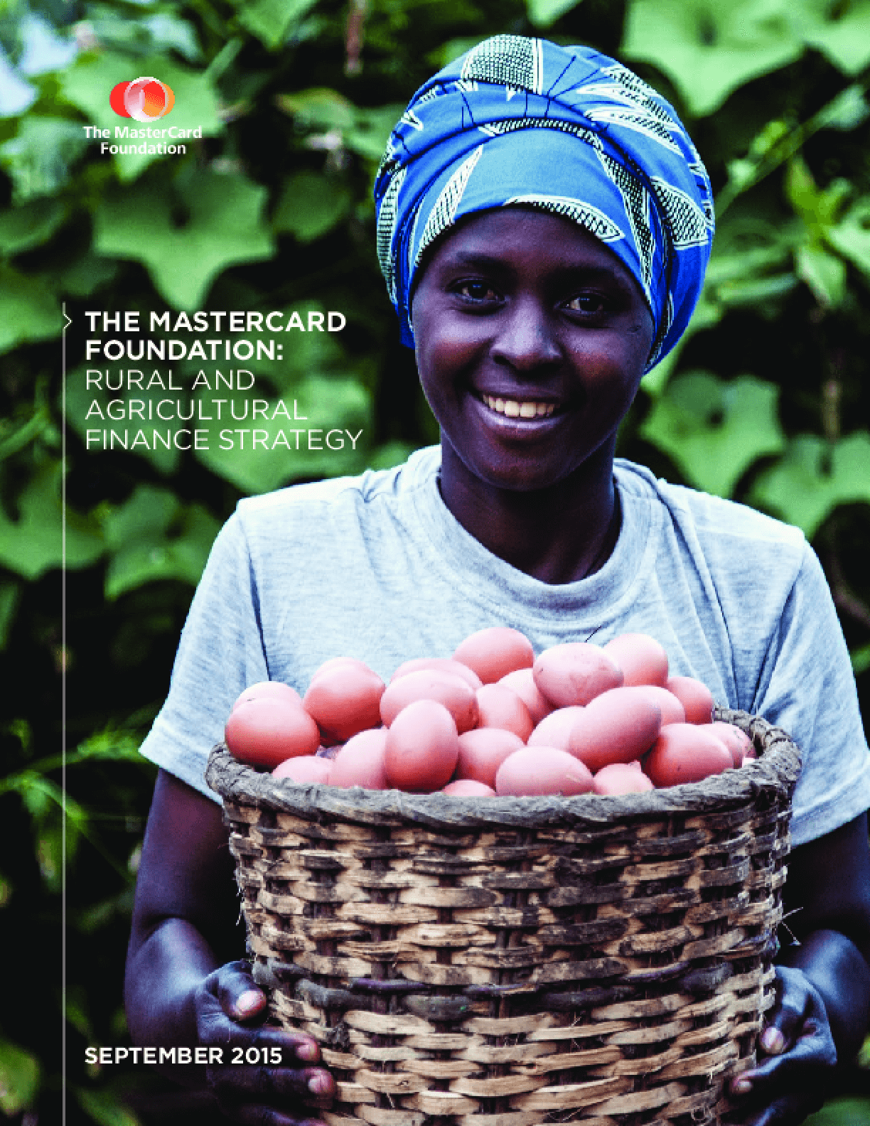 The MasterCard Foundation: Rural and Agricultural Finance Strategy