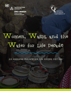 Women, WASH, and the Water for Life Decade