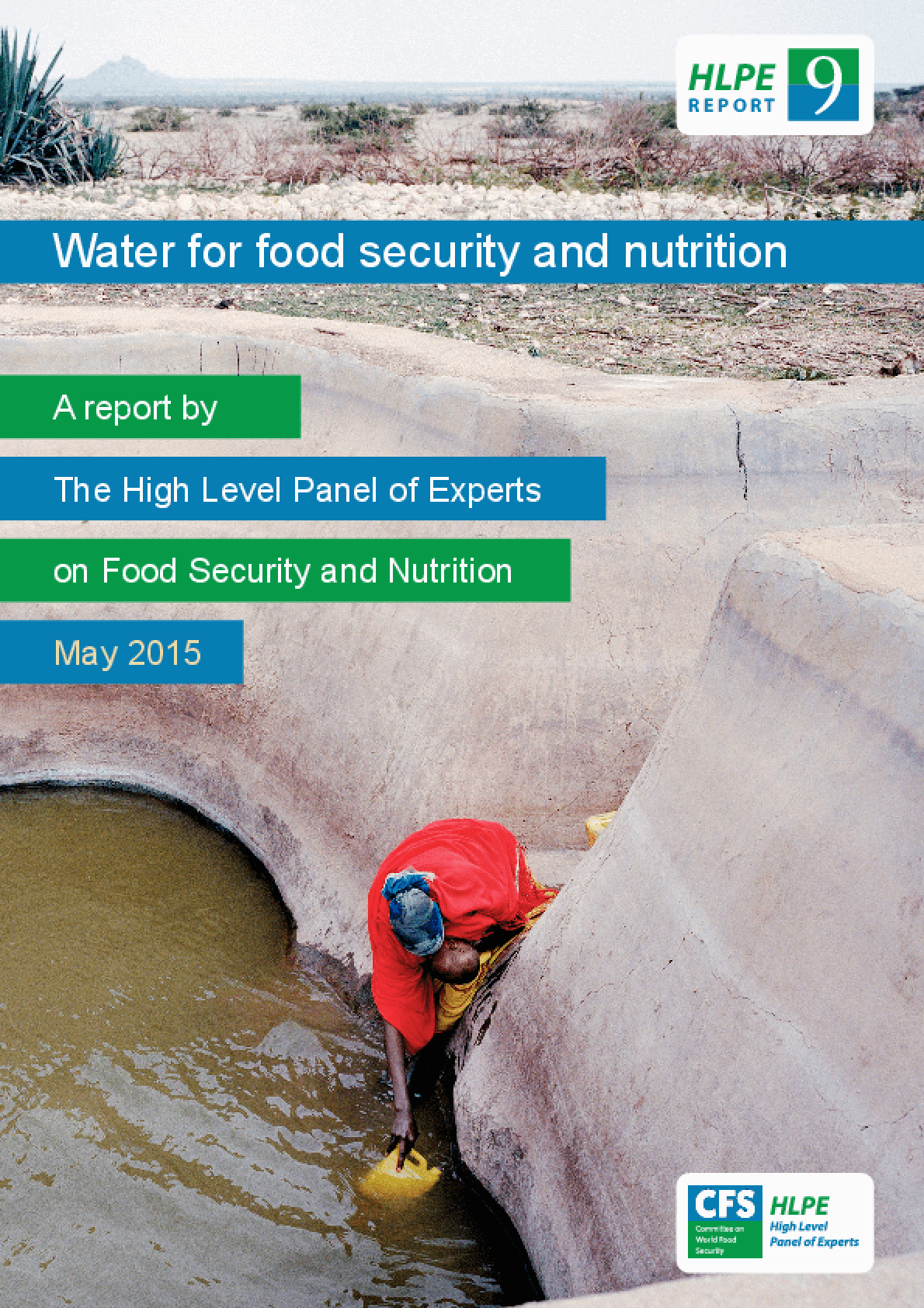 Water for Food Security and Nutrition