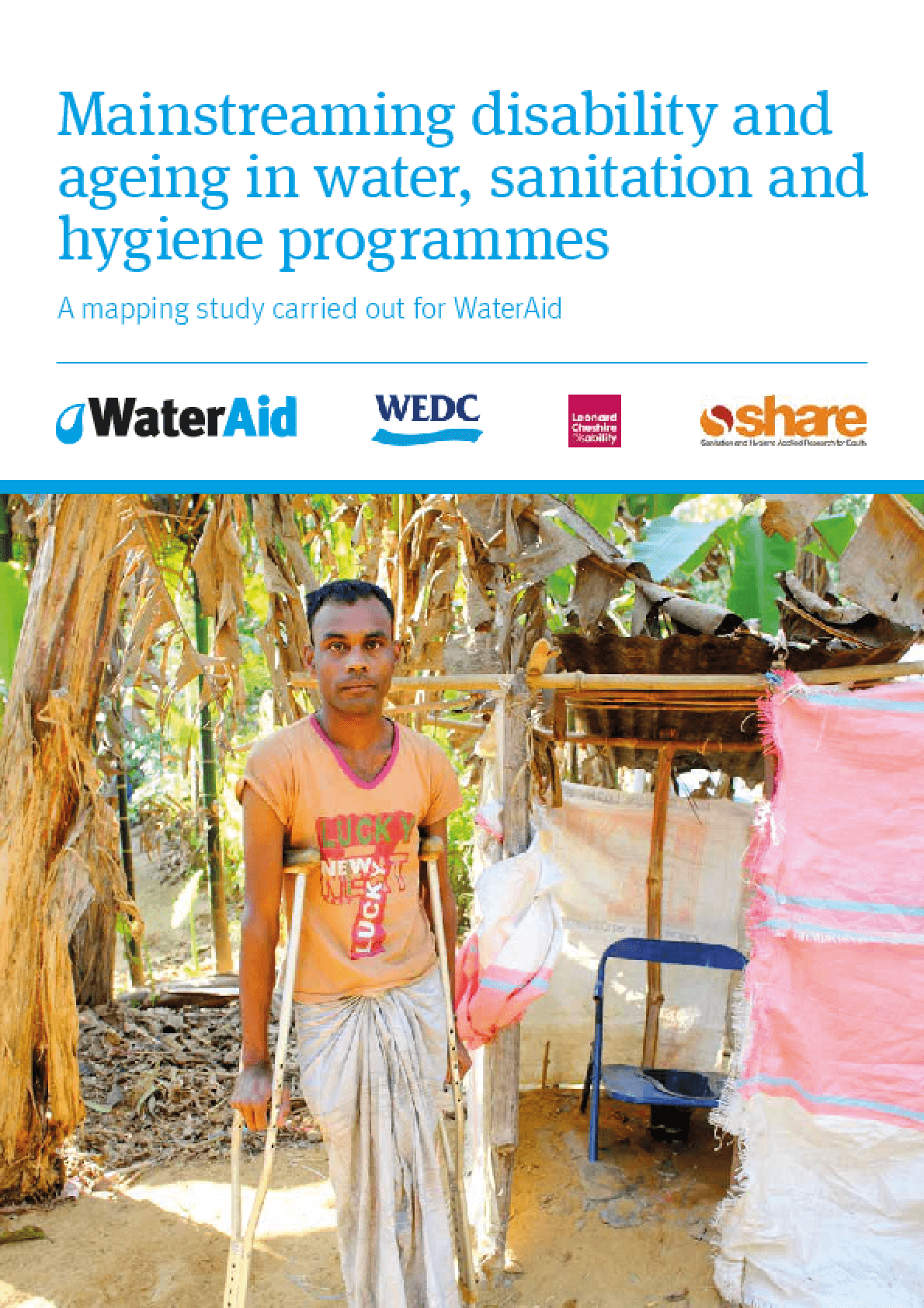Mainstreaming Disability and Ageing In Water, Sanitation and Hygiene Programmes