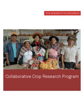 Collaborative Crop Research Program
