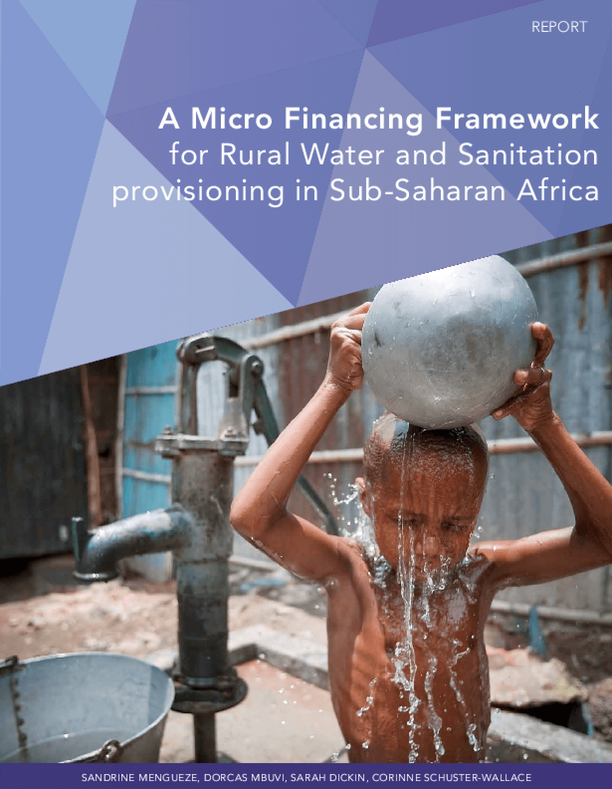 A Micro Financing Framework for Rural Water and Sanitation Provisioning in Sub-Saharan Africa