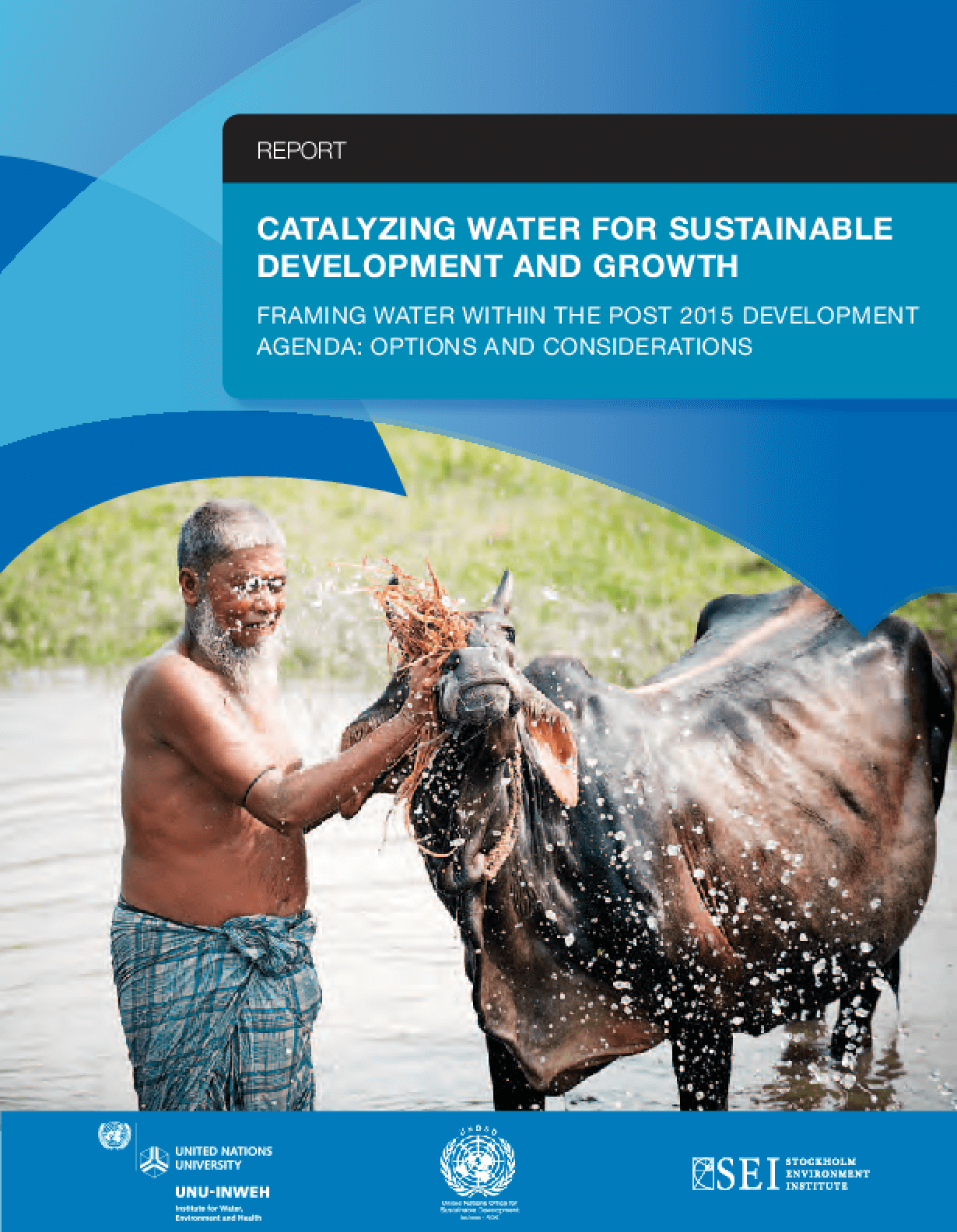 Catalyzing Water for Sustainable Development and Growth