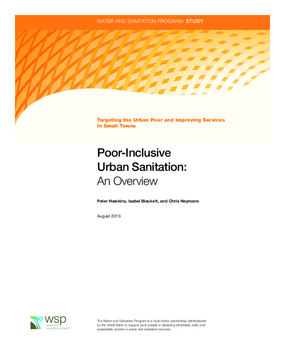 Poor-Inclusive Urban Sanitation: An Overview