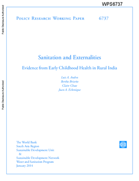 Sanitation and Externalities: Evidence from Early Childhood Health in Rural India