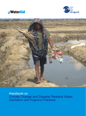 Handbook on Climate Change and Disaster Resilient Water, Sanitation and Hygiene Practices