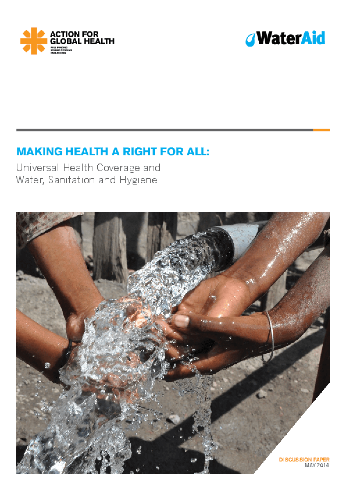 Making Health A Right for All: Universal Health Coverage and Water, Sanitation, and Hygiene