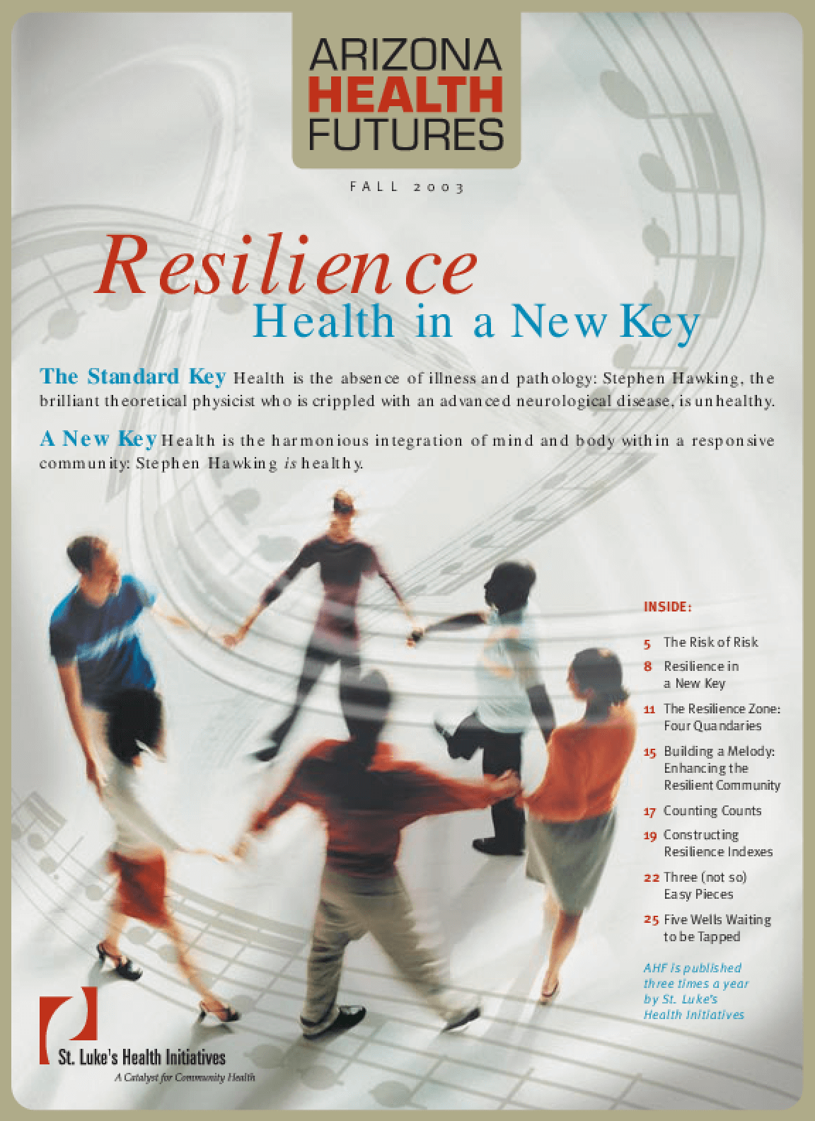 Resilience: Health in a New Key