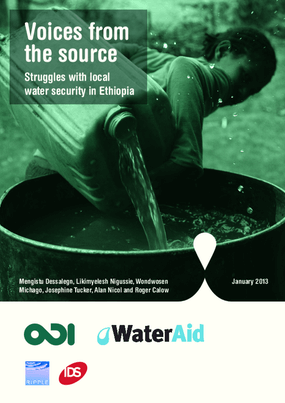 Voices from the Source: Struggles with Local Water Security in Ethiopia
