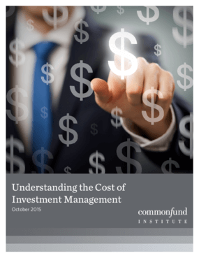 Understanding the Cost of Investment Management: A Guide for Fiduciaries