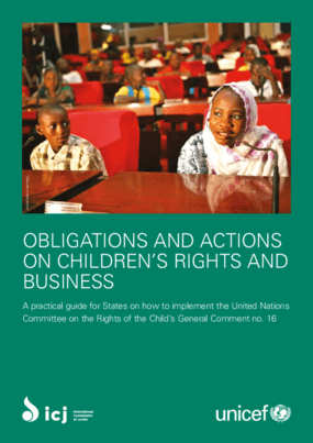 Obligations and Actions on Children's Rights and Business